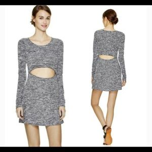Aritzia Wilfred Free Solange Cutout Mini Dress